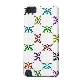 Abstract Funky Colorful Stars iPod Touch (5th Generation) Cover