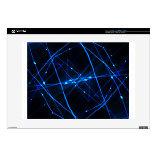 Abstract futuristic design laptop decal