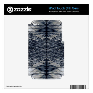 Abstract futuristic pattern iPod touch 4G decals