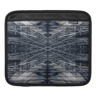 Abstract futuristic pattern sleeve for iPads
