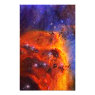 Abstract Galactic Nebula with cosmic cloud 5 Stationery