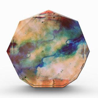 Abstract Galaxy Marbleized Art Award