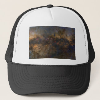 Abstract Galaxy with cosmic cloud 2 sml Trucker Hat