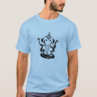 Abstract Ganesh - Yoga Tee Shirt