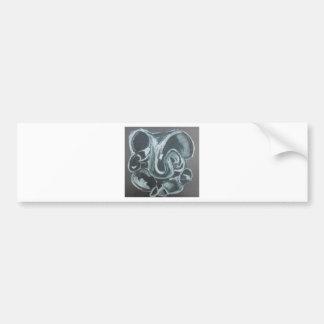 Abstract Ganesha Bumper Sticker