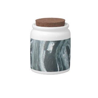 Abstract Ganesha Candy Jars