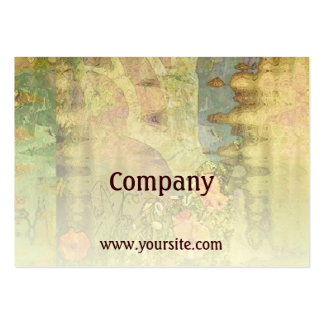 Abstract Garden View Business Card