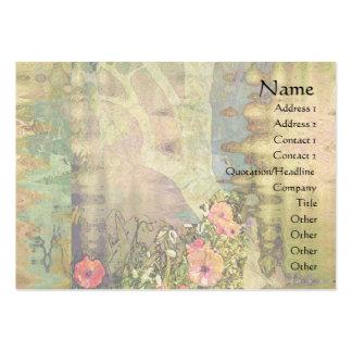Abstract Garden View Business Card Templates