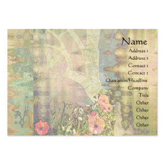 Abstract Garden View Business Card Templates