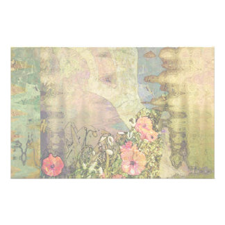 Abstract Garden View Stationery