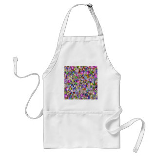 Abstract gems. apron