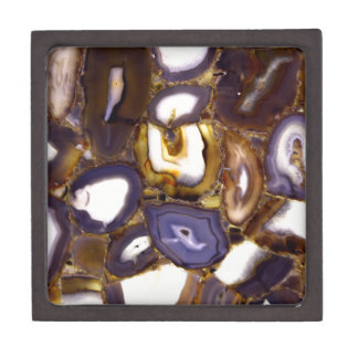 Abstract Geodes Gift Box