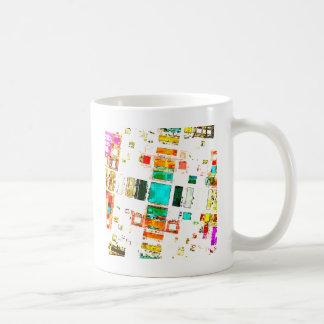 Abstract Geometric Art Classic White Coffee Mug