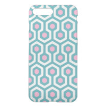 Abstract Geometric Beehive Pattern iPhone 7 Plus Case