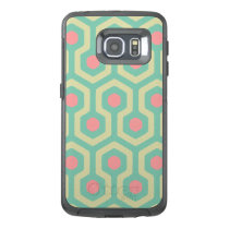 Abstract Geometric Beehive Pattern OtterBox Samsung Galaxy S6 Edge Case