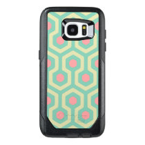 Abstract Geometric Beehive Pattern OtterBox Samsung Galaxy S7 Edge Case