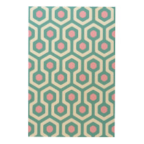 Abstract Geometric Beehive Pattern Wood Wall Decor