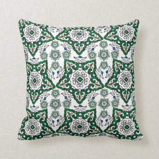 Abstract Geometric Chinese Design Throw Pillow