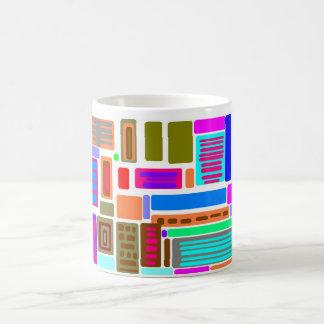 Abstract Geometric Coffee Mug