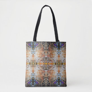 Abstract Geometric Design All-Over-Print Tote