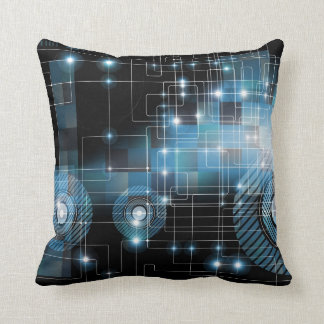 Abstract Geometric Fantasy Background Throw Pillow
