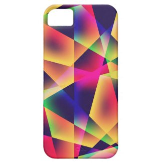 Abstract Geometric Fluorescence iPhone5 case iPhone 5 Covers
