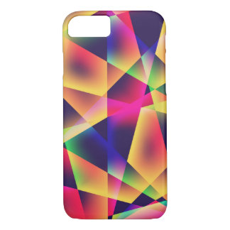 Abstract Geometric Fluorescence iPhone 8/7 Case