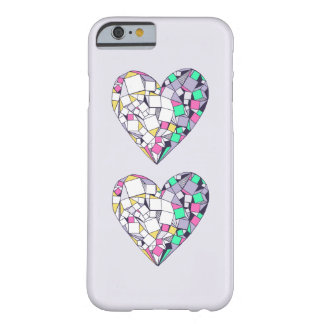 Abstract Geometric Heart Drawing iPhone 6/6s Case