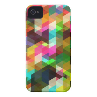 Abstract Geometric iPhone 4 Case-Mate Case