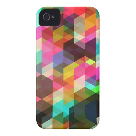 Abstract Geometric  iPhone Case