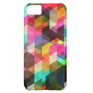 Abstract Geometric iPhone Case Cover For iPhone 5C