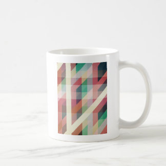 Abstract Geometric Lines Coffee Mug