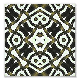 Abstract Geometric Modern Pattern Photo Art