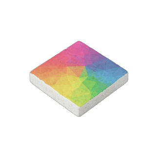 Abstract Geometric Pattern 1 Stone Magnet