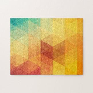 Abstract Geometric Pattern 2 Jigsaw Puzzle