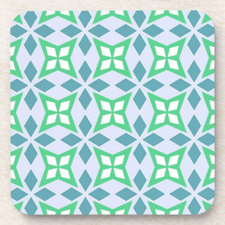 Abstract Geometric pattern Beverage Coaster