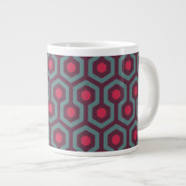 Abstract Geometric Pattern Large Coffee Mug