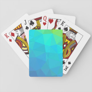 Abstract Geometric Pattern Playing Cards