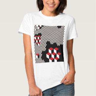 abstract geometric pattern t-shirts