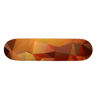 abstract geometric pattern, triangle design skateboard
