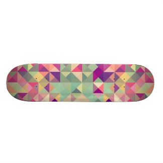 Abstract Geometric Skateboard Deck