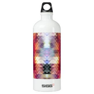 Abstract Geometric Spectrum 2 Water Bottle