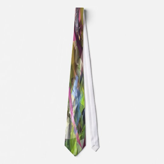 Abstract Geometric Tie (0108-01)