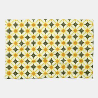 Abstract Geometric Trellis Towel