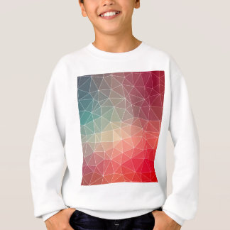 Abstract Geometric Triangulate Design Sweatshirt