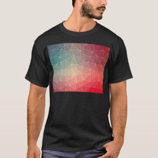 Abstract Geometric Triangulate Design T-Shirt
