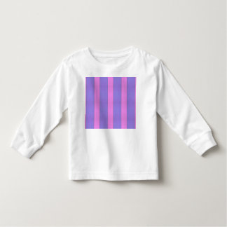 Abstract Geometrical Art Purple And Pink Stripes Shirt