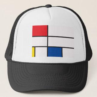 Abstract geometrics trucker hat
