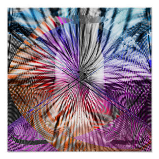 Abstract Geometry 1.1c Poster