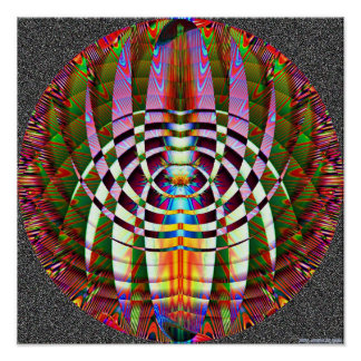 Abstract Geometry 3.2b Poster